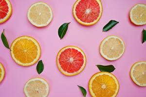 Pictures Texture Lemons Orange fruit Citrus Food