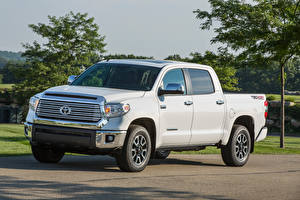 Pictures Toyota Pickup White Metallic 2013, TRD, Tundra CREWMAX Limited auto