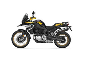 Pictures BMW - Motorcycle Side White background F 850 GS Edition 40 Years GS, 2020 motorcycle