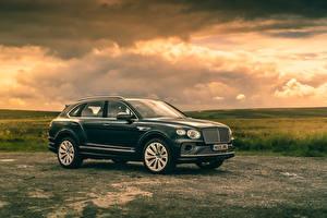 Photo Bentley Metallic Side Crossover Bentayga V8, Worldwide, 2020
