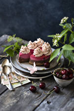 Image Torte Cherry Boards Design Spoon Food