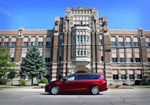 Pictures Chrysler Red Metallic Side Grand Caravan CA-spec, 2020 auto