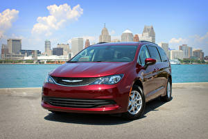 Images Chrysler Red Metallic Grand Caravan CA-spec, 2020