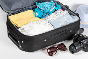 Pictures Clothing Suitcase Camera Glasses