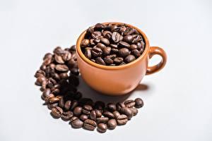 Hintergrundbilder Kaffee Getreide Tasse Grauer Hintergrund das Essen