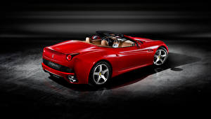 Wallpapers Ferrari Roadster Red Metallic  automobile