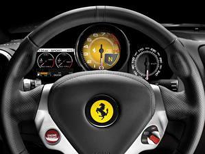 Pictures Ferrari Steering wheel  Cars