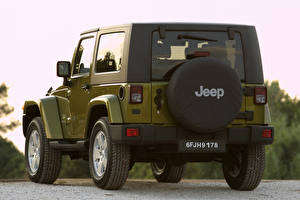 Wallpaper Jeep SUV Back view  auto