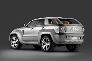 Images Jeep Gray Metallic Sport utility vehicle Trailhawk Concept, 2007 Cars