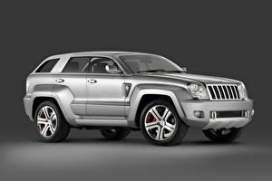 Fotos & Bilder Jeep Grau Metallisch Seitlich SUV Trailhawk Concept, 2007 Autos