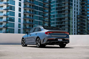 Pictures KIA Metallic Back view K5 EX North America, 2020 Cars