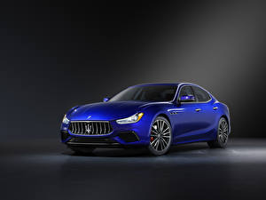 Pictures Maserati Blue Metallic Ghibli GT Sport Package, M157, 2020