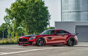 Pictures Mercedes-Benz Red Side Metallic AMG GT auto