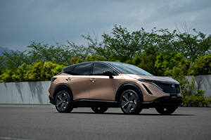 Pictures Nissan CUV Metallic Side Ariya e-4orce JP-spec, 2020 automobile