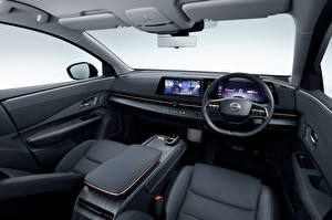 Pictures Nissan Salons Crossover Steering wheel Ariya e-4orce JP-spec, 2020
