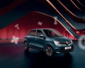 Wallpaper Renault Green 2020 Twingo Signature automobile