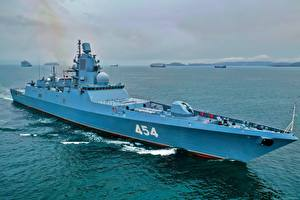 Picture Ships Russian Frigate, 22350, Admiral Gorshkov Army