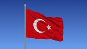 Bakgrunnsbilder Tyrkia Flagg Vind