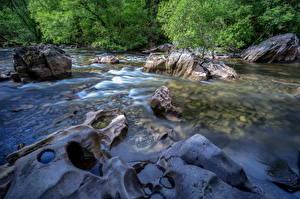 Hintergrundbilder Vereinigtes Königreich Park Wälder Flusse Steine Wales Snowdonia