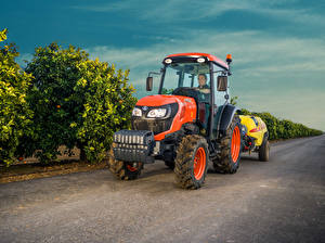 Images Agricultural machinery Tractor 2017-20 Kubota M5101N Cab