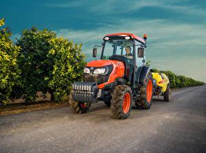 Bilder Landwirtschaftlichen Maschinen Traktor 2017-20 Kubota M5101N Cab