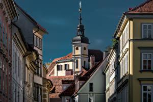 Bilder Österreich Haus Kirche Graz, Stiegenkirche Städte