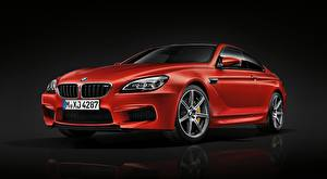 Wallpaper BMW Red Metallic Coupe M6 Coupe, Competition Package, 2015 Cars