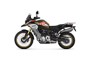 Image BMW - Motorcycle Side White background F 850 GS Adventure Style Rallye, 2020 Motorcycles