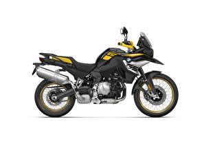 Photo BMW - Motorcycle Side White background F 850 GS Edition 40 Years GS, 2020 Motorcycles