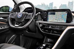 Bakgrunnsbilder Buick Salons Bil ratt Crossover Velite 7 2020