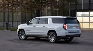 Pictures Chevrolet Sport utility vehicle White Metallic Suburban, 2020
