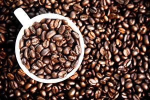 Tapety na pulpit Kawa Filiżanka Ziarna Jedzenie