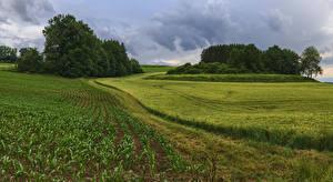 Hintergrundbilder Deutschland Felder Bayern Landkreis Augsburg Natur