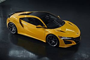 Images Honda Yellow Acura NSX 2020