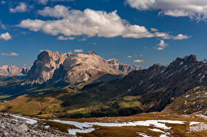Fotos Italien Berg Alpen Wolke Trentino-Alto Adige Natur