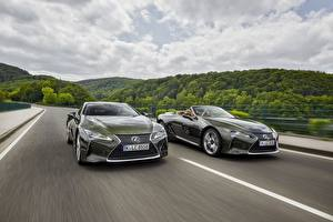 Photo Lexus Moving 2 Cabriolet 2021 LC 500 Convertible