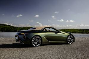 Photo Lexus Cabriolet Metallic Side LC 500 Convertible, 2021