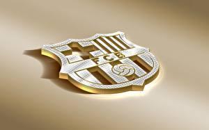 Fotos Logo Emblem Fußball FC Barcelona, Barca, Emblem, Spanish Club