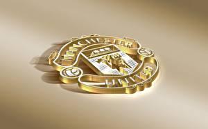 Hintergrundbilder Logo Emblem Fußball Manchester United, English Club
