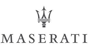 Fotos Maserati Logo Emblem Weißer hintergrund auto