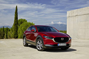Images Mazda Red 2019-20 CX-30 Skyactiv-D Worldwide automobile