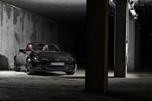 Wallpapers Mazda Gray Cabriolet 2020 MX-5 Eunos Edition Cars