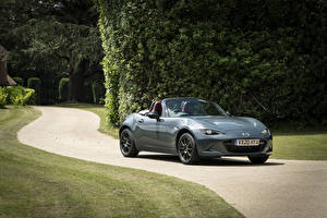Pictures Mazda Gray Metallic Convertible 2020 MX-5 R-Sport automobile