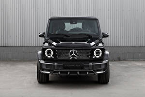 Pictures Mercedes-Benz G-Wagen Black Metallic Front G 350 d Light Package, Br.463, 2020 automobile