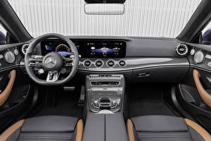 Fotos Mercedes-Benz Salons Lenkrad Cabrio E 53 4MATIC, Cabrio Worldwide, A238, 2020
