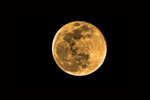 Bakgrundsbilder på skrivbordet På natten Månen