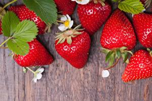 Fotos Erdbeeren das Essen