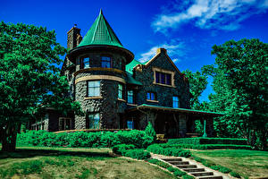 Photo USA Building Mansion Design Henry H Meyers House, Duluth, Minnesota Cities