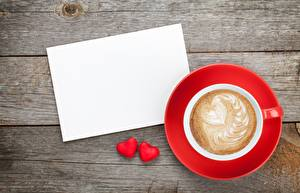 Picture Valentine's Day Cappuccino Heart Template greeting card Cup Saucer Food