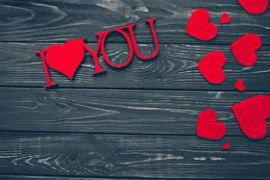 Hintergrundbilder Valentinstag Bretter Vorlage Grußkarte Herz